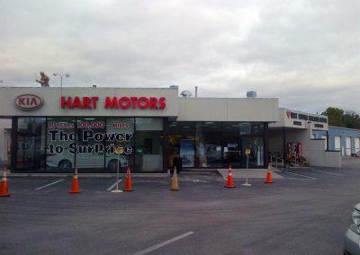 Commercial Portfolio - Hart Motor Remodel - 01